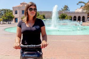 Tour Guide Bridgette on a Balboa Park Segway Tour for Adventures in San Diego